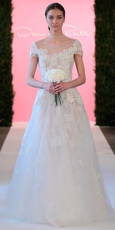 Oscar de la Renta's Dreamy Spring Bridal Collection – Fashion Style Magazine - Page 17