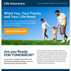instant life insurance quote ppv landing page design