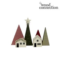 December DIY Interchangeable O Santa Wood Decor