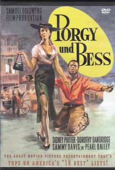 Porgy And Bess, 1959 w/ Sydney Poitier / Dorothy Dandrige / Sammy Davis Jr. Old School Movies, Old Movies, Vintage Movies, Great Movies, Dorothy Dandridge, Old Movie Posters, Vintage Posters, African American Movies, Plus Tv