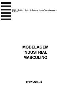 Modelagem industrial masculina