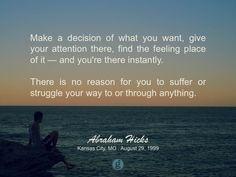 #abrahamhicks #manifest #decision