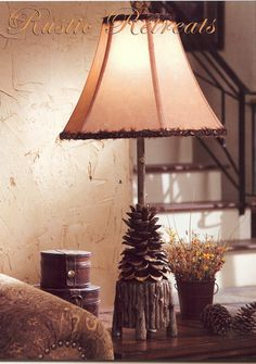 lodge style table lamps | Floor lamps, table lamps, vanity lights and chandeliers are all ...