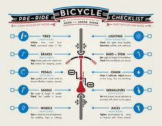 Get Your #Bike Ready for a Ride with This 10-Point Checklist #MayIsBikeMonth