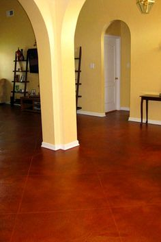 1000 Images About Yellow Amp Red Concrete Floor Stains On