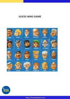Great game for ESL students to practice adjectives! Full Lesson Plan on our website ;)
