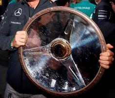 Australia Formula One Winners Trophy 2014