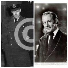 Rex Harrison-Royal Air Force-WW2-flight Lieutenant. (Actor)
