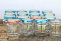 20 belles façons de récupérer les pots de nourriture pour bébé!                                                                                                                                                                                 Plus