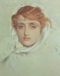 The Athenaeum - The White Maid of Avenel (Anthony Frederick Sandys - No dates listed)
