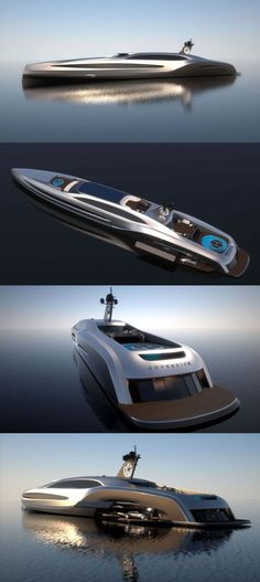 Sovereign 100 Meter Super yacht - It must be nice to have money laying around. Yacht Design, Boat Design, Jet Ski, Super Yachts, Yachting Club, Bateau Yacht, Yacht Boat, Speed Boats, Private Jet