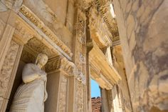 A newly named UNESCO World Heritage Site, Ephesus lies just northeast of Kuşadası, with excavated remains that reflect centuries of classical Greek and Roman history.