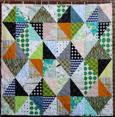 Half Rectangle Quilt