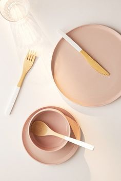 Bamboo Flatware Set