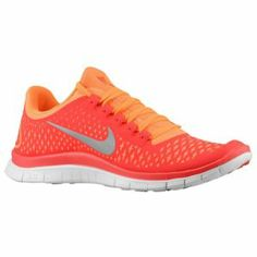 Nike Free Run 3.0 V4 - Men's - Pimento/Reflective Silver/Total Orange