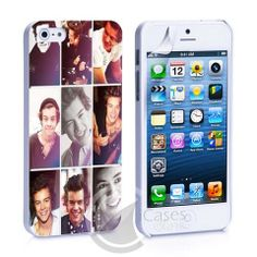 Harry Styles Collage One Picture iPhone 4, 4S, 5, 5C, 5S Samsung Galax – iCasesStore