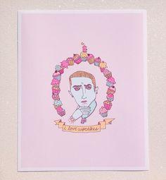 Eminem Portrait Print by sackofcats on Etsy