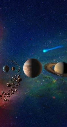 Wallpaper Earth, Planets Wallpaper, Background Hd Wallpaper, Wallpaper Space, Galaxy Wallpaper, Black Wallpaper, Iphone Wallpaper, Space Planets, Space And Astronomy
