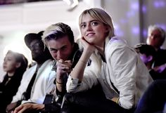 Lucky Blue Smith (L) and Pyper America Smith | Front Row For The MCM x Christopher Raeburn SS17 Show at Grand Connaught Rooms on June 11, 2016 in London, England ❤