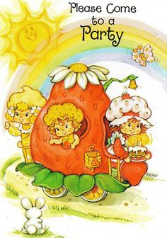 It's a Strawberry Shortcake party! | Flickr - Photo Sharing!
