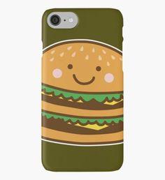 Cute Hamburger iPhone Case/Skin