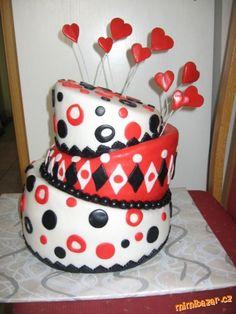 Je to torta ktorá sa hodí na valentýn