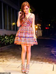 Laurene Uy is one of the modern and funky fashion icon here in the Philippines. Funky Fashion, Dress Making, Style Icons, Like You, Celebrity Style, Product Launch, Feminine, Summer Dresses, My Style