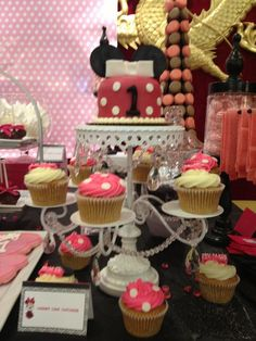 Minnie Mouse theme| 1st Birthday Party |