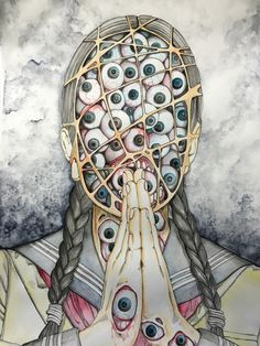 I could make a whole board just for this twisted motherfucker, lol. Shintaro Kago.