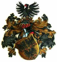 Das Wappen der Linie des Gottfried von Enckevort / Coat of Arms of The Line from Gottfried von Enckevort / Armas del Estirpe de Gottfried von Enckevort