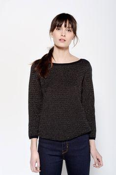 Danton Navy Stripe Pullover - Pulls - categories - e-shop