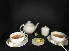 Théière Japonaise, sucrier empire, tasses déjeuner #porcelaine #cups #recette #thé #tea