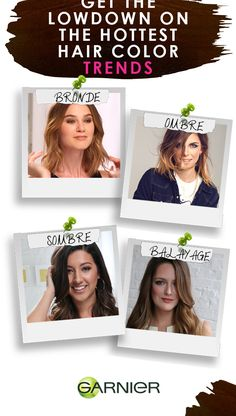 Find out about bronde, ombre and more in our hair trends round up!