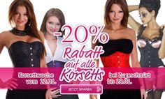 Korsetts, Corsagen, Dessous günstig online kaufen • bei Zugeschnuert-Shop aus Berlin -20% auf alle Korsetts - zu kaufen im zugeschnuert-shop.de