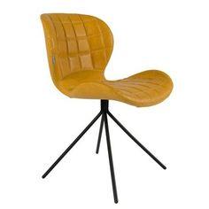 Zuiver heeft deze stoel wel een erg leuke naam gegeven. Namelijk de OMG eetkamerstoel, oftewel 'OH MY GOD'. Ga eens zitten in deze comfortabele lederen OMG stoe