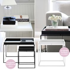 HAY Tray table black or white £129