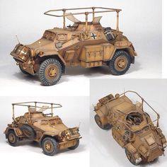 Sd Kfz 223 Leichte Panzerspähwagen By: Marcel du Long From: marceldulong #scalemodel #plastimodelismo #miniatura #miniature #miniatur #hobby #diorama #humvee #scalemodelkit #plastickits #usinadoskits #udk #maqueta #maquette #modelismo #modelism