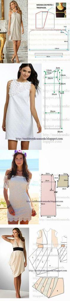 Нарядные платья и выкройки к ним ...<3 Deniz <3