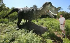 Dinosaures parc Azur Lac - Landes