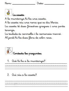 Quadern de Comprensió Lectora