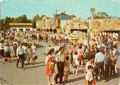 Parc d'attraction de Chorzow en Pologne. 1979.
