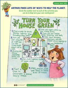 There are tons of ways to turn your house green!