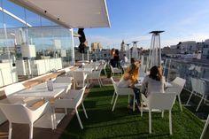 Hotel Óscar, Madrid, La terraza de arriba (rooftop). Photo : Les Jolis Mondes