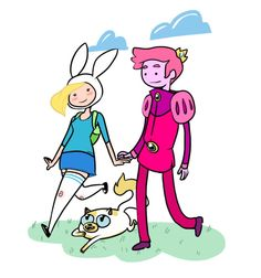 More Fionna x Gumball... shame they were only in one episode so far.