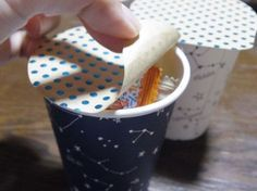 紙コップラッピングをもっと楽しく簡単に!ポーション型にしてみない?