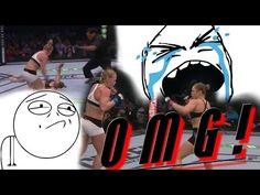 Ronnda Rousey vs Holly Holm Devastating Los My reaction