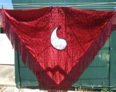 COMMISSIONED Aes Sedai Shawl - Any Ajah - You pick the fabric