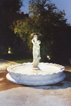 """Napoli Fountain - #953 - 1540 lbs. - 68.5"""" tall - 78.7"""" dia - Garden Fountain"""