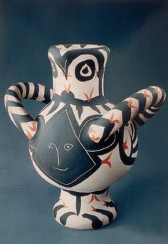 Pablo Picasso (1881-1973), 1961, Gros oiseau au visage noir (Big bird with a black face).