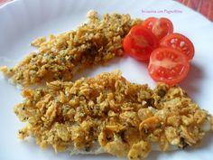 #Filetti di #pesce #croccanti